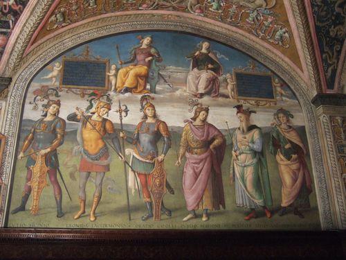 Raphael, Collegio del Cambio, Perugia