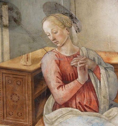Lippi, Annunciation, Spoleto