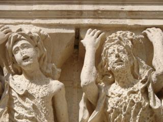 Detail from Basilica di Santa Croce,  Lecce